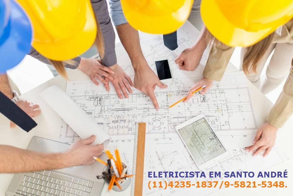 Eletricistas em Santo André
