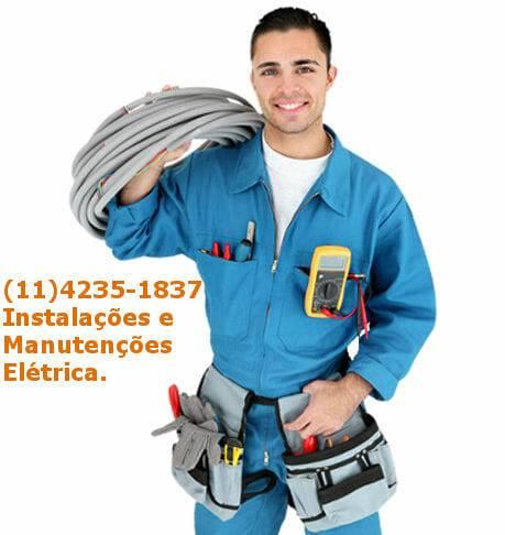 Serviços elétrico 24 horas em Santo André