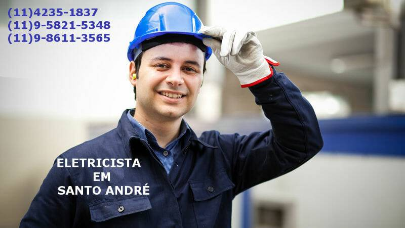 Eletricista comercial em Santo André